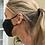 Thumbnail: Sunglasses Chain metal - Rose gold