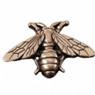 Brooch - Gold Bee