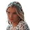 Thumbnail: Premium Handmade Blue Explosion Rhinestone  encrusted Headband