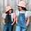Thumbnail: Bucket Hat - reversible- Pink daisy/Pink