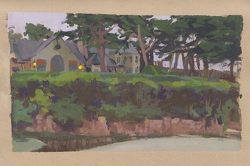 Paint Drip #112 Carmel Beach Mansion