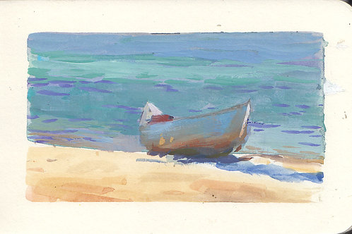 Paint Drip #96 Tahoe Canoe