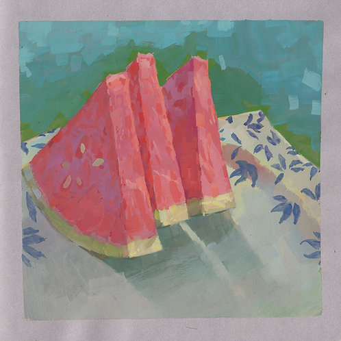 Paint Drip #58 Watermelon Slices
