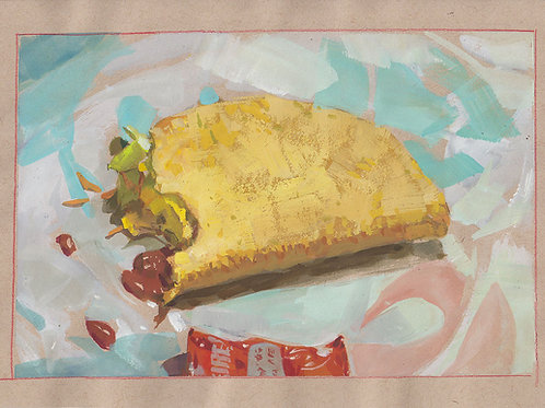 Paint Drip 94: Crunchy Taco
