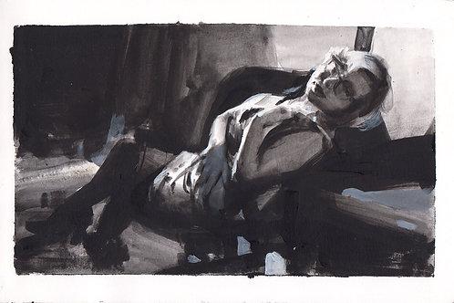 Paint Drip #55 Noir 1