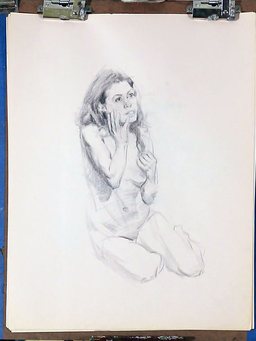 Collection of Charcoal Drawings, #6