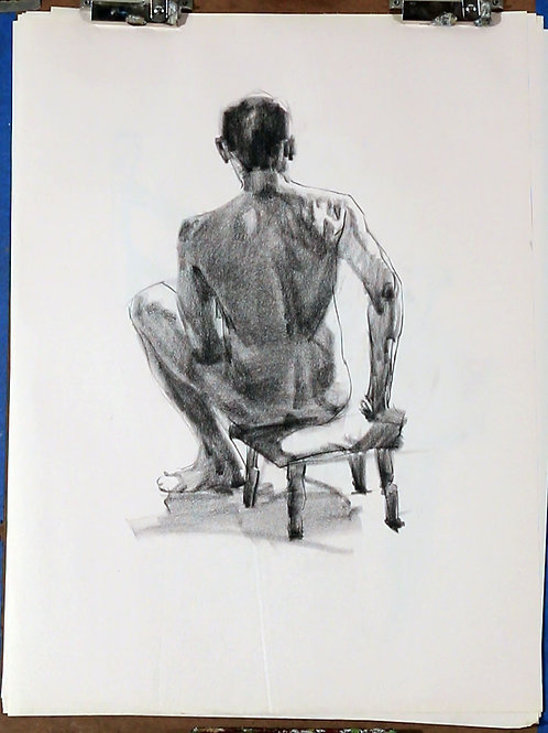 Collection of Charcoal Drawings, #2