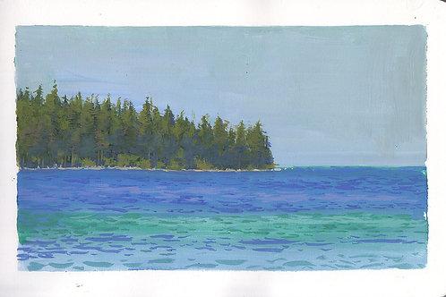 Paint Drip #97 Lake Tahoe Study