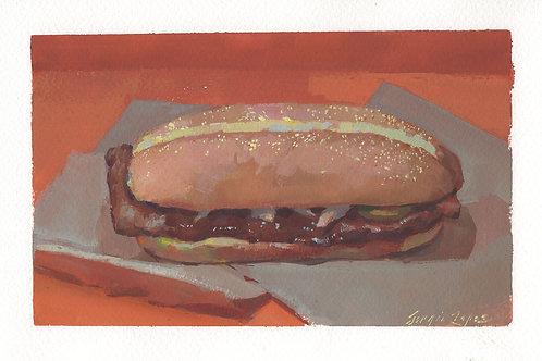 Paint Drip #147 McRib