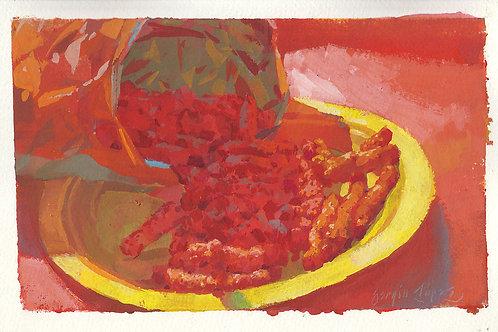 Paint Drip #124 Flaming Hot Cheetos