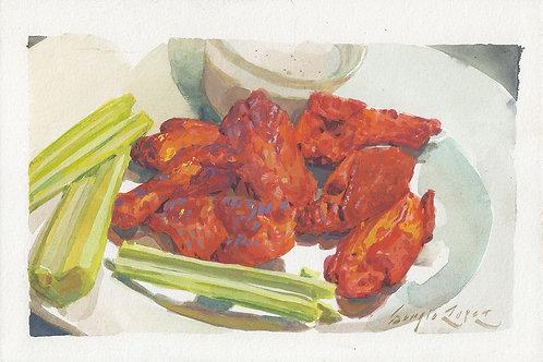Paint Drip #108 Buffalo Wings