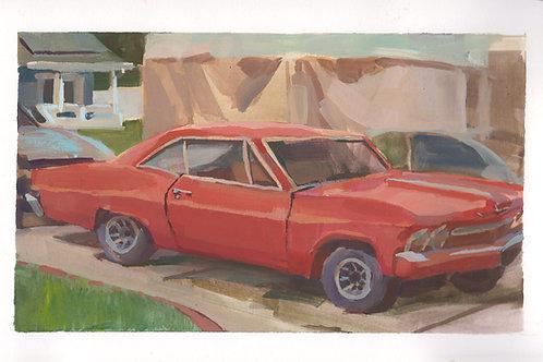 Paint Drip #52 Chevy Super Sport