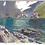"Thumbnail: ""Iceberg Lake"" Gouache on paper."