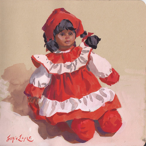 Paint Drip #32 Mexican Doll