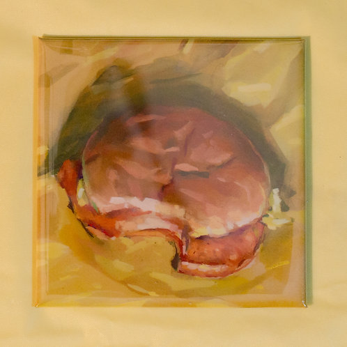 """McChicken"" 3x3 in. Magnet"