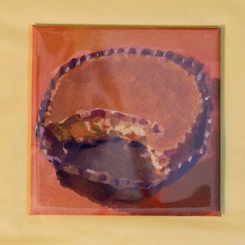 """""""Reese Cup"""" 3x3 in. Magnet"""