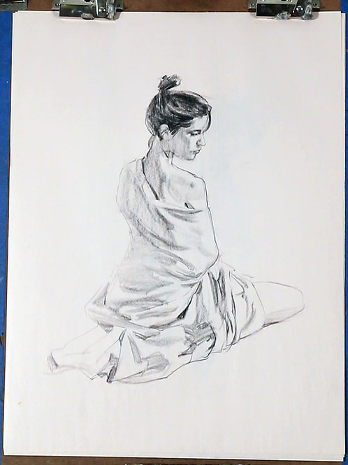 Collection of Charcoal Drawings, #3