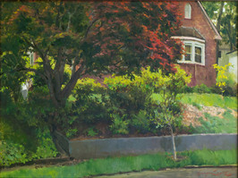 18x24_Olmsted_SergioLopez_Behind_the_Red_Maple_Tree_forweb.jpg