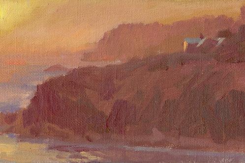 """Vermillion Cliffs""(Study) Oil on canvas board."