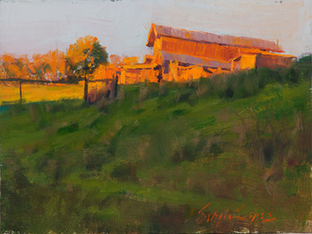 6x8_Sergio_Lopez_The_Barn_On_The_Hill_fo