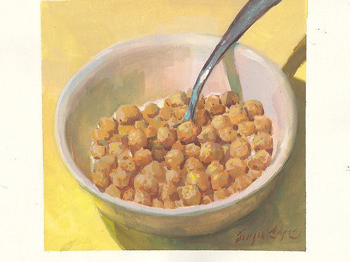 Paint Drip #117 Peanut Butter Crunch Cereal
