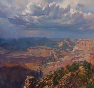 28x30_SergioLopez_Grand_Canyon_Thundercl