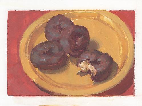 Paint Drip #100 Mini Donuts