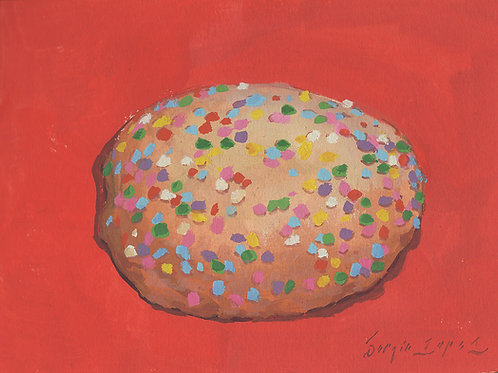 Paint Drip #149 Sugar Cookie
