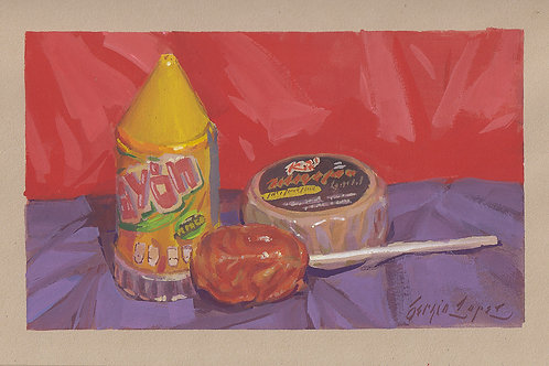 Paint Drip #127 Mexican Candies 1