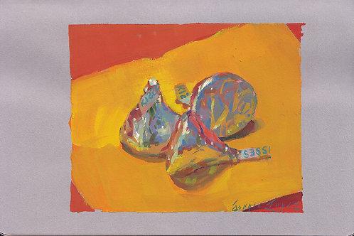Paint Drip #133 Hershey Kisses