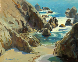 Sergio Lopez A Rare Day in Bodega Bay w.jpg