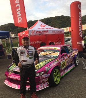 Valino Sweeps podium on its debut at Drift Kingdom rd 6 Maze circuit