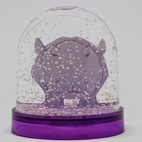Boule à neige Monsieur Hippopotame