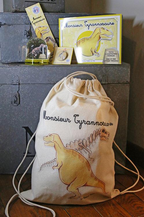Sac à dos complet Monsieur Tyrannosaure (Squelette)