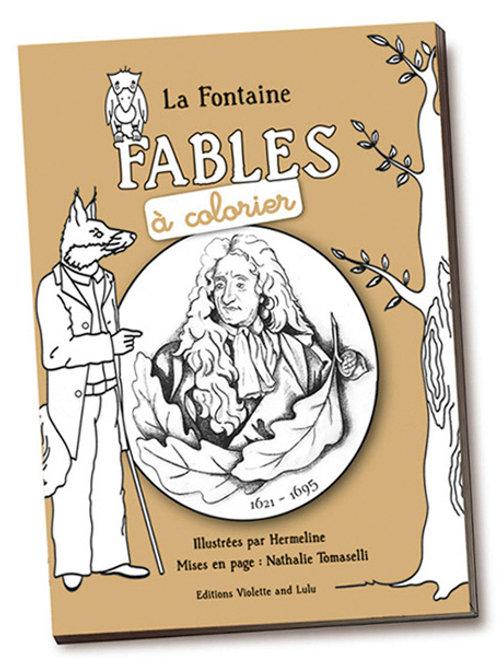 Fables de La Fontaine à colorier