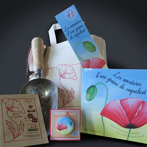 Tote bag complet Coquelicot