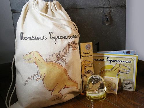 Sac a dos complet Monsieur Tyrannosaure
