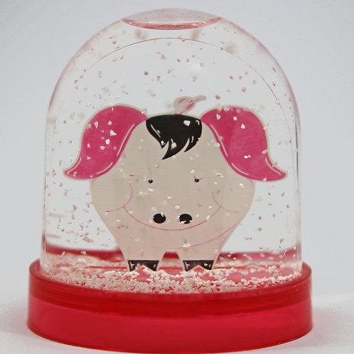 Boule à neige Monsieur Cochon