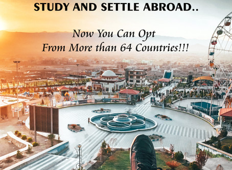 Study & Settle Abroad: Now you can opt from more than 64 countries!!!