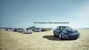 Porsche Panamera- Four, uncompromised ad