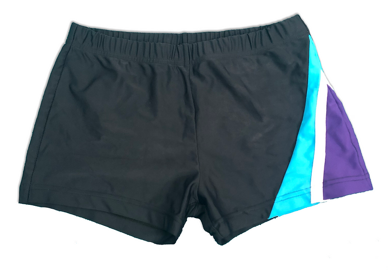 Pre-owned Metallic Stripe Shorts