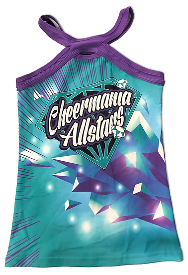 Teal Practice Tank