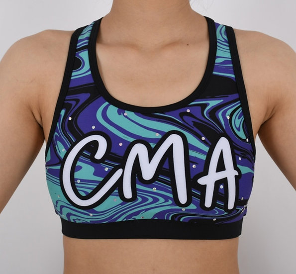 Rebel Athletic Swirl Crop Top