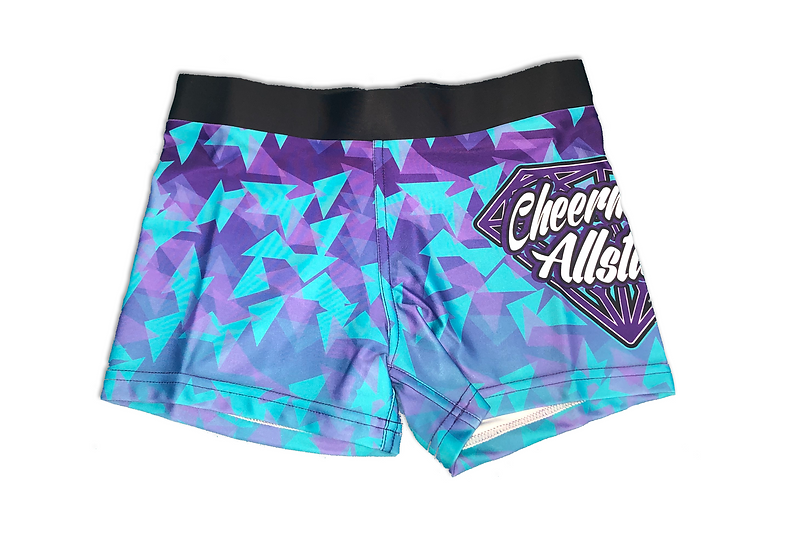 Diamond Print Shorts