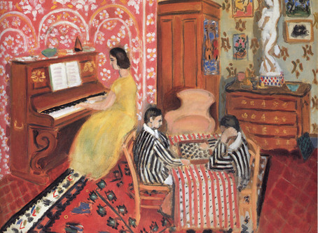 Three Musical Things We Can Learn from Painters: Matisse, Picasso, Brooke, and Sully