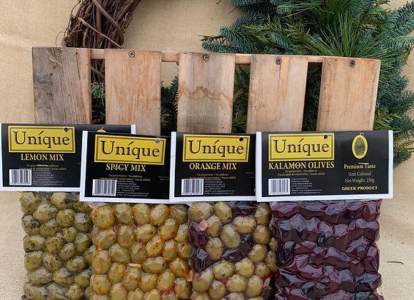 Unique olives us