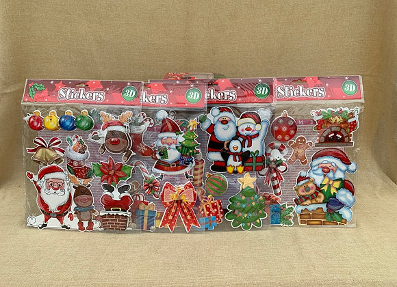 3D Christmas Stickers