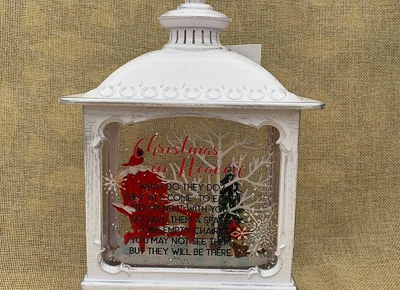 Cardinal Christmas in Heaven Water Globe