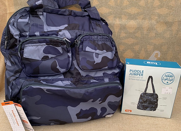 Puddle Jumper - Packable - Camo Navy