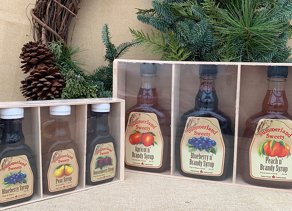 Summerland Sweets Syrup 3 Gift Pack